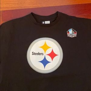 Steelers Hall of Fame Terry Bradshaw T-shirt  sz L